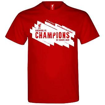ליברפול ליגת האלופות הזוכים חולצת טי