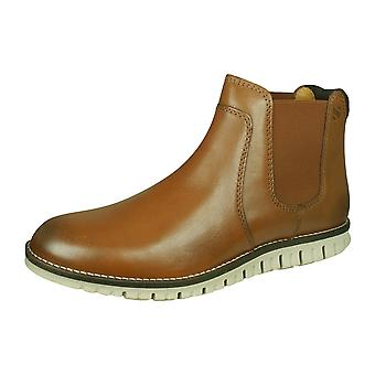 Sledgers Howard Mens Leather Chelsea Boots - Tan