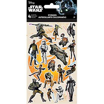 Autocollants standard 4 feuille - Star Wars - Rebels Stationery New st2560
