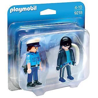 Playmobil Playmobil Duo Pack Policeman and thief