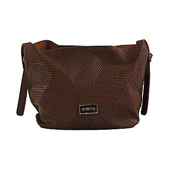 For Time Bandolera lisa - Women Brown shoulder bags (Marr n) 12x23x25 cm (W x H L)