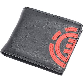 Element Wallet with CC, Note and Coin Pockets ~ Daily original black