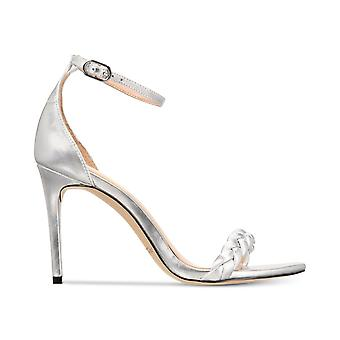 Rachel Zoe Womens ELLA Fabric Open Toe Special Occasion Ankle Strap Sandals