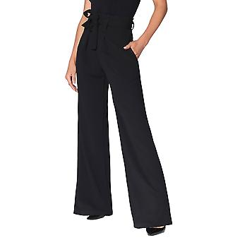 KRISP Paperbag Waist Palazzo Trousers