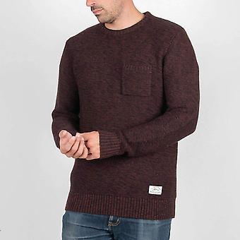 Passenger redstone knitted jumper