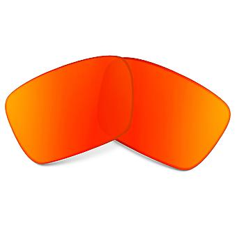 Replacement Lenses for Oakley Fuel Cell Sunglasses Red Mirror Anti-Scratch Anti-Glare UV400 by SeekOptics
