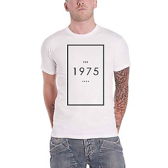 The 1975 T Shirt Original Band Logo new Official Mens White