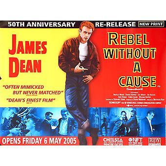 Rebel ilman syytä (uudelleenjulkaisu) alkuperäinen elokuva juliste