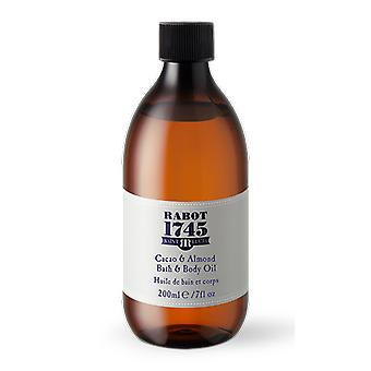 Cacao & almond bath and body oil 200ml