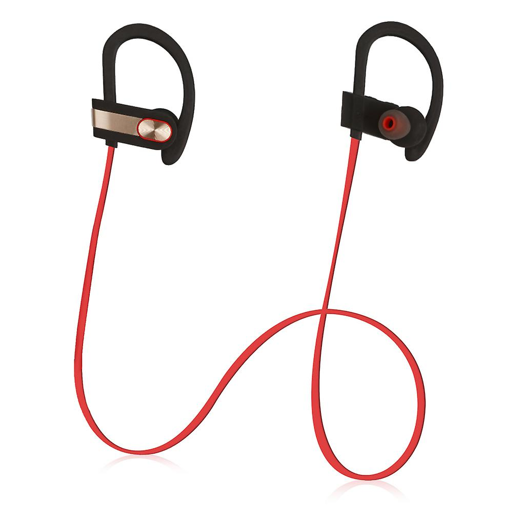 REYTID Wireless Sports Earphones w/ Mic & Vol Control - HD Sound Noise Isolation while Working Out Gym Sweatproof Behind-Ear Headphones Bluetooth Earbuds Headset iPhone Android Jogging Running