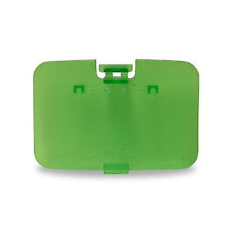 Replacement expansion cover jumper pak door for nintendo 64 n64 - jungle green