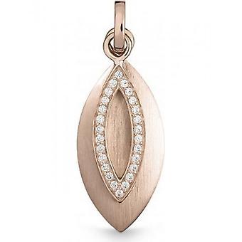 QUINN - Anheng - Kvinner - Rose Gold 585 - Topp W. (G)si. - 3241469