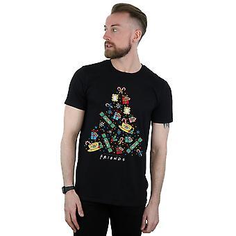 Ystävät miehet ' s joulu kuusi T-paita