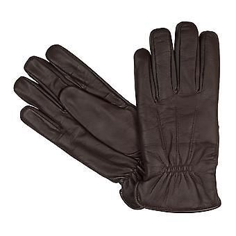 bugatti Herrenhandschuhe Handschuhe Ziegennappaleder Braun 8356