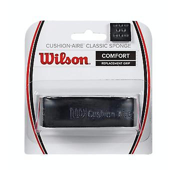 Wilson Cushion Aire Classic Sponge Replacement Grip - Black - One Size