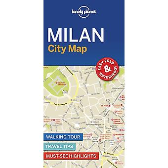Lonely Planet Milan City Map
