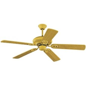 Ceiling fan Indiana Beech with pull cord 132cm / 52
