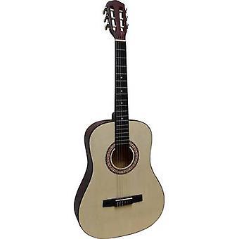 MSA Musikinstrumente MI 36 N Guitarra clássica 3/4 Ecru