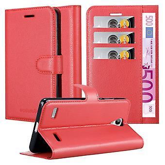 Cadorabo Hülle für ZTE Blade A520 Case Cover - Handyhülle mit Magnetverschluss, Standfunktion und Kartenfach – Case Cover Schutzhülle Etui Tasche Book Klapp Style
