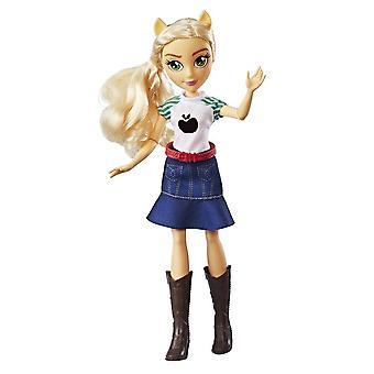 Mój mały kucyk equestria dziewczyny Applejack Klasyczna lalka lalka 28cm