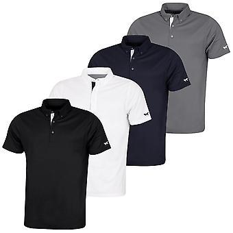 Wolsey Mens Fox Arm Temperatuur reguleren Golf Polo Shirt
