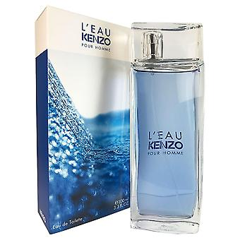 L'eau kenzo pour homme for men by kenzo 3.4 oz eau de toilette spray