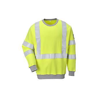 Portwest ognioodporne antystatyczne hi-vis bluza fr72
