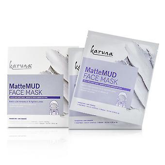 Matte Mud Face Mask 4sheets