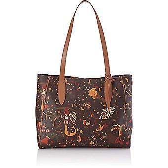 piero drive 210604088 Bag Tote Donna Brown (Leder) 35x275x11 cm (W x H x L)