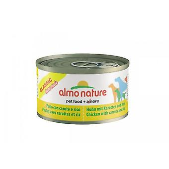 Almo nature Classic Chicken with Carrots and Rice (Dogs , Dog Food , Wet Food)