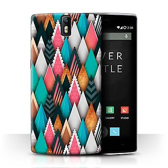STUFF4 Case/Cover for OnePlus One/Frozen Winter Forest/Modern Vibrant