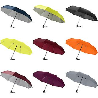 Bullet 21.5in Alex 3-Section Auto Open And Close Umbrella (Pack of 2)