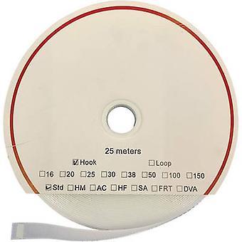 FASTECH® T010160000225 Gancho e laço fita stick-on (adesivo acrílico) Almofada de loop (L x W) 25000 mm x 16 mm Branco 25 m