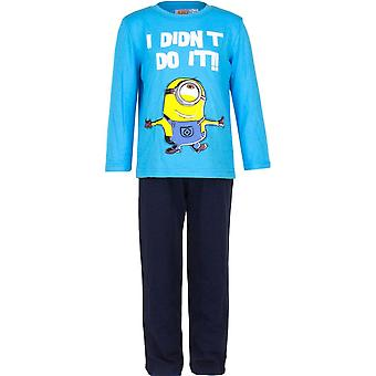 Minions boys pyjama set long sleeve cotton