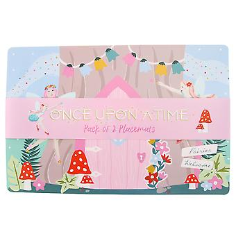 Once Upon A Time Fairy Placemats (Pack of 2)