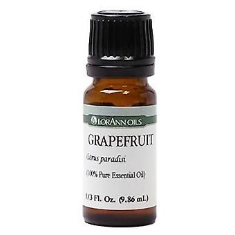 Lorann oils pure essential oil, grapefruit, 0.33 oz