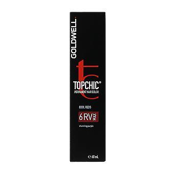 Goldwell Topchic Cool rot 6RVMax permanente Haarfarbe 60ml