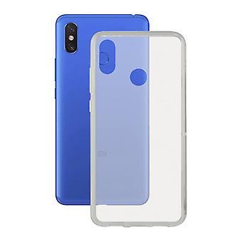 Copertura mobile Xiaomi Mi Max 3 KSIX Flex Trasparente