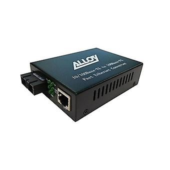 Alloy Ac100 Series Fx Multimode Fibre 1310Nm St Converter 2Km