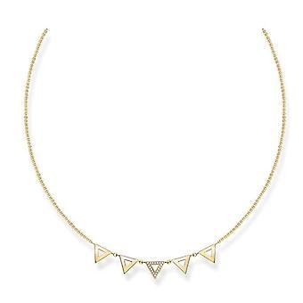 Thomas Sabo Necklace with Donna vermeil pendant - D_KE0009-924-14-L45v