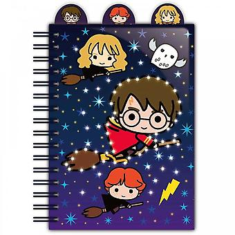 Blue Sky mallit Ltd Harry Potter Led Light Up Notebook - Wiro