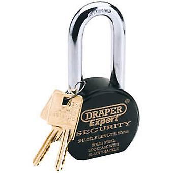 Draper 64207 Expert 63mm Heavy Duty Stainless Steel Padlock And 2 Keys