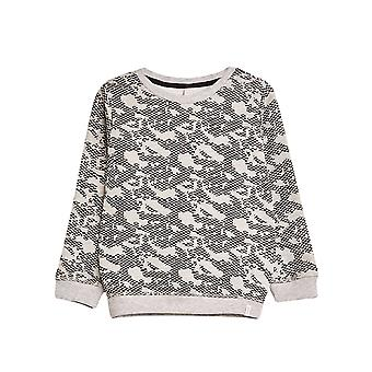 Esprit Kids' Sweatshirt With Pixelated Pattern