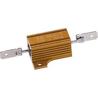 ATE אלקטרוניקה RB25/7-10R-J הספק כוח גבוה 10 Ω מחבר קליפים מלבני 25 W 5% 1 pc (עם)