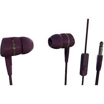 Vivanco SMARTSOUND BERRY Hi-Fi In-ear headphones In-ear Berry