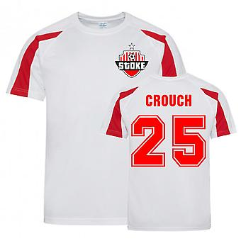 Peter Crouch Stoke Sports Training Jersey (White)