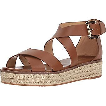 Michael Michael Kors Women's Shoes Leather Open Toe Casual Espadrille Sandals