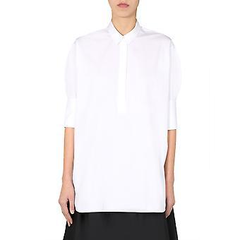 Jil Sander Jsxq600405wq244300100 Naiset's Valkoinen Puuvilla paita