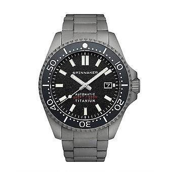 Spinnaker SP-5084-11 Gent's Tesei Titanium Black Dial Wristwatch