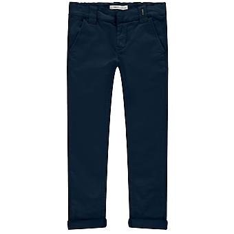 Name-it Jongens Jeansbroek Silas Chino Dark Sapphire